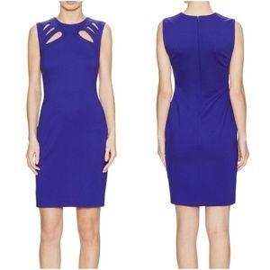 Diane Von Furstenberg Chrome Purple Sidra Dress